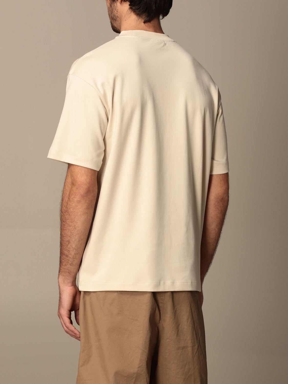 T-shirt Drole De Monsieur: T-shirt Drole De Monsieur con mini logo sabbia 3