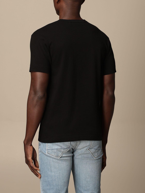 T-Shirt Comme Des Garçon Play: T-shirt herren Comme Des GarÇon Play schwarz 2