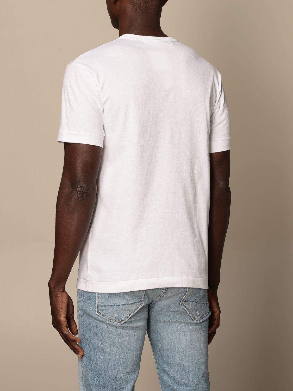 T-Shirt Comme Des Garçon Play: T-shirt herren Comme Des GarÇon Play weiß 2