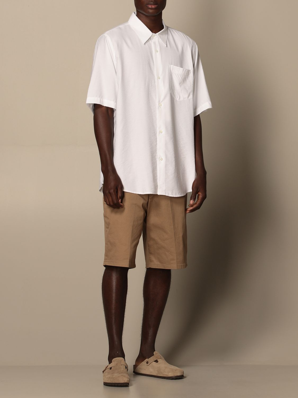 Shirt Ami Alexandre Mattiussi: Ami Alexandre Mattiussi viscose shirt white 2