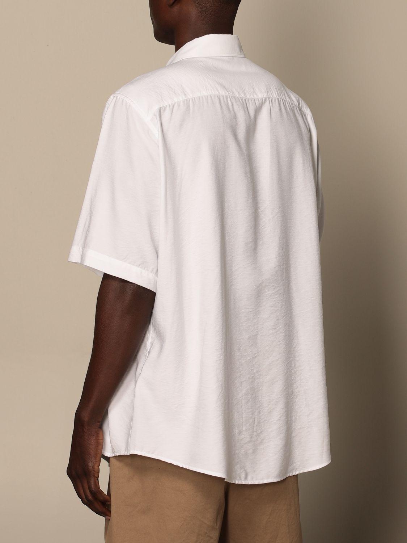 Shirt Ami Alexandre Mattiussi: Ami Alexandre Mattiussi viscose shirt white 3