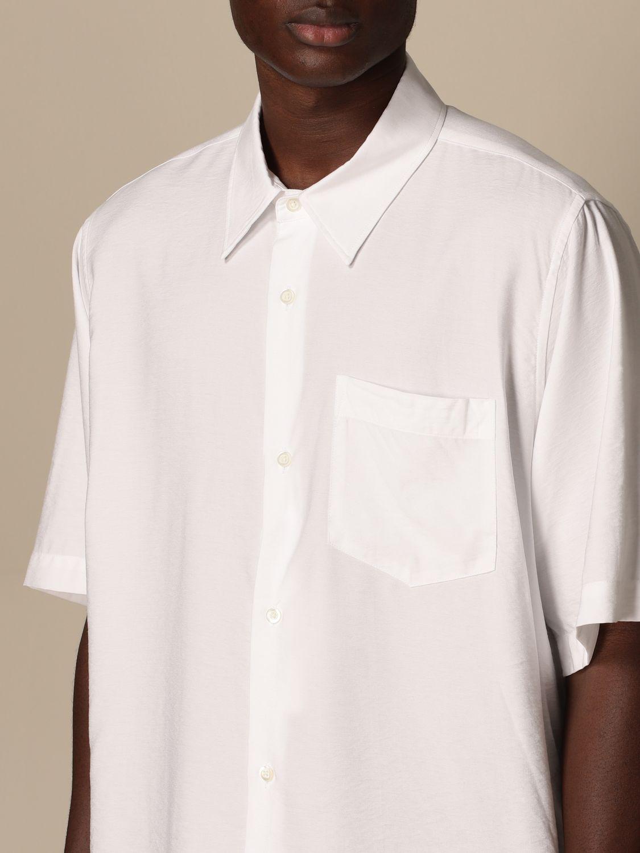 Shirt Ami Alexandre Mattiussi: Ami Alexandre Mattiussi viscose shirt white 4