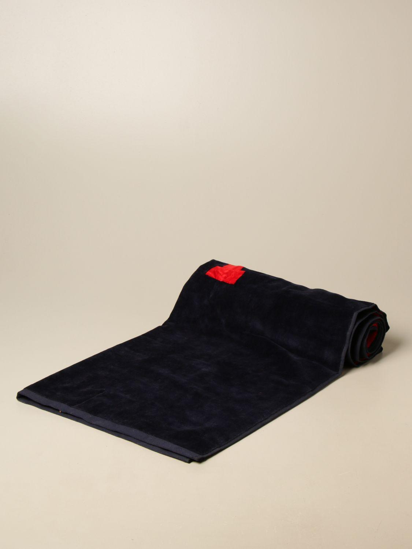 Beach towel Ami Alexandre Mattiussi: Beach towel men Ami Alexandre Mattiussi navy 1