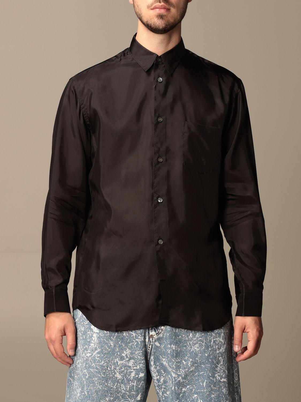 Camicia Comme Des Garçons Shirt: Camicia Comme Des Garçons Shirt effetto satin nero 1