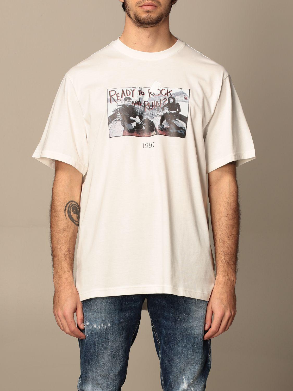 Camiseta Throwback: Camiseta hombre Throwback blanco 1