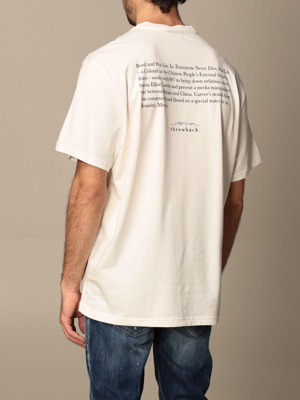 Camiseta Throwback: Camiseta hombre Throwback blanco 2