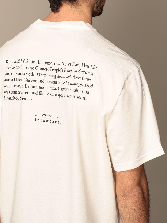 Camiseta Throwback: Camiseta hombre Throwback blanco 3