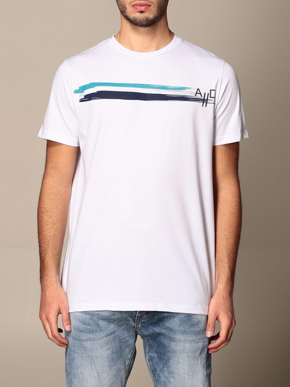 T-shirt Alessandro Dell'acqua: Alessandro Dell'acqua t-shirt in cotton with print white 1