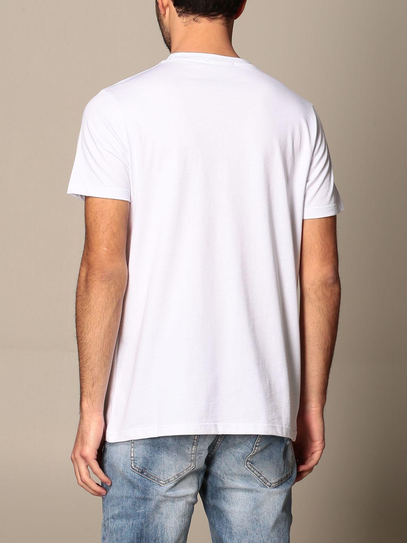T-shirt Alessandro Dell'acqua: Alessandro Dell'acqua t-shirt in cotton with print white 3