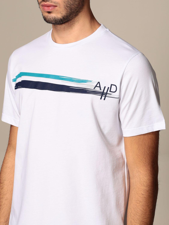 T-shirt Alessandro Dell'acqua: Alessandro Dell'acqua t-shirt in cotton with print white 4