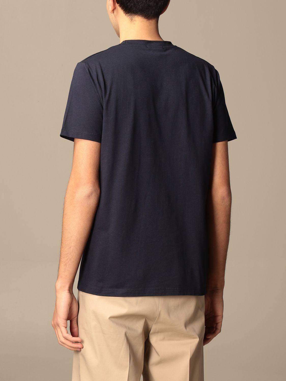 T-Shirt Alessandro Dell'acqua: Pullover herren Alessandro Dell'acqua blau 2