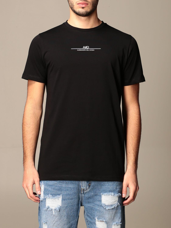 T-shirt Alessandro Dell'acqua: Jumper men Alessandro Dell'acqua black 1