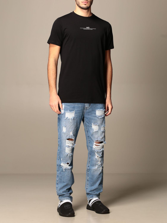 T-shirt Alessandro Dell'acqua: Jumper men Alessandro Dell'acqua black 2