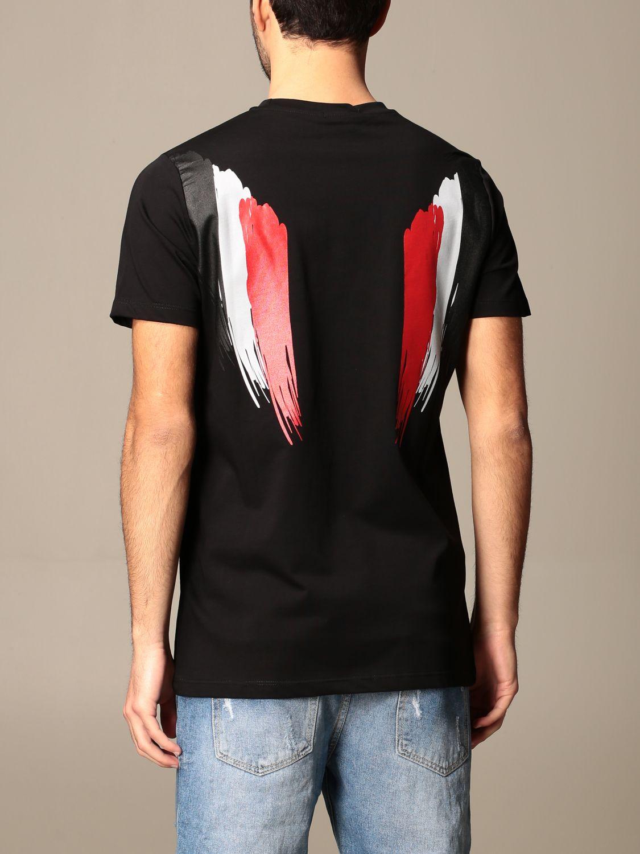 T-shirt Alessandro Dell'acqua: Jumper men Alessandro Dell'acqua black 3