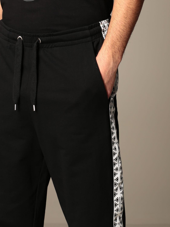 Trousers Alessandro Dell'acqua: Trousers men Alessandro Dell'acqua black 4