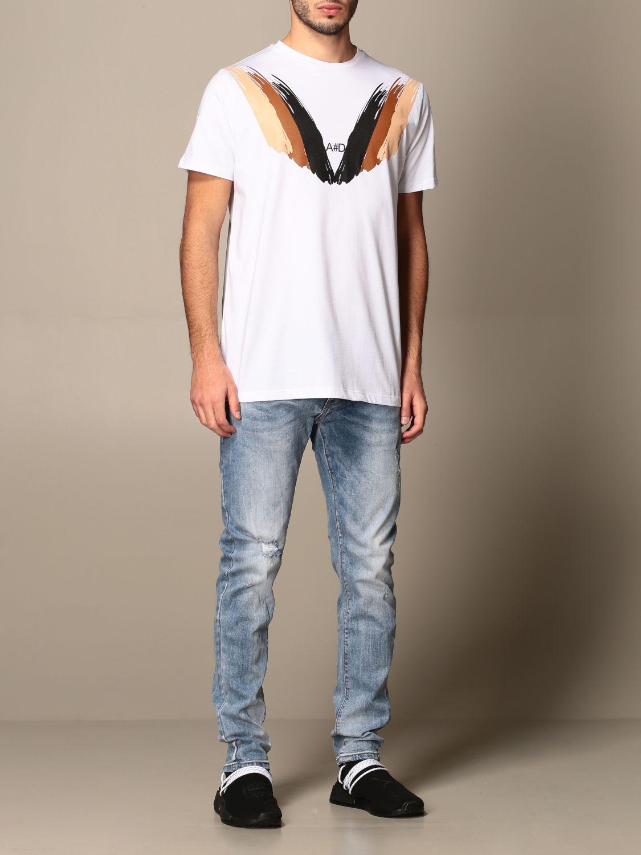 T-shirt Alessandro Dell'acqua: Pull homme Alessandro Dell'acqua blanc 2