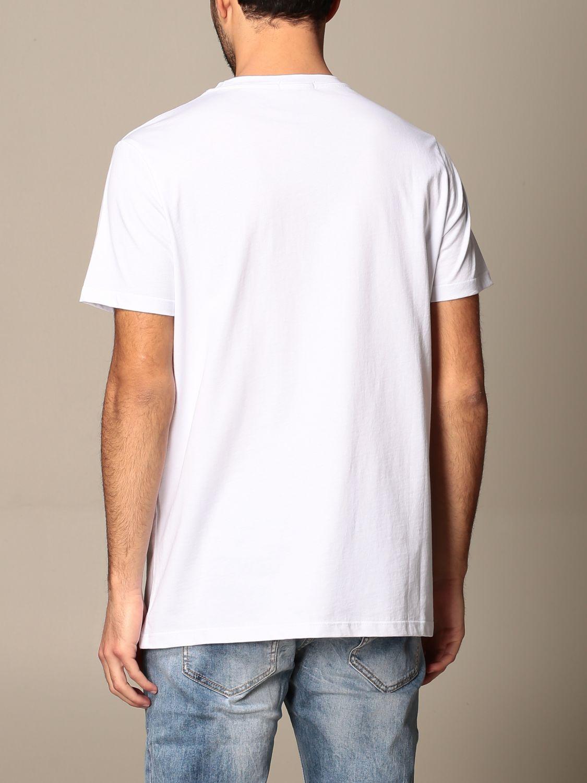 T-shirt Alessandro Dell'acqua: Pull homme Alessandro Dell'acqua blanc 3