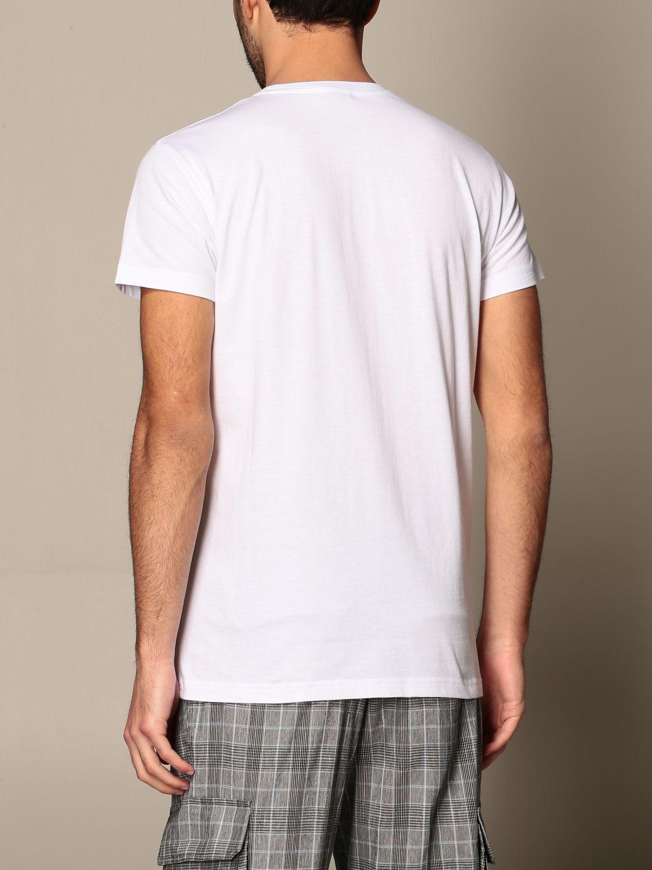 T-shirt Alessandro Dell'acqua: Jumper men Alessandro Dell'acqua white 3