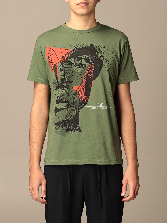 Camiseta Alessandro Dell'acqua: Jersey hombre Alessandro Dell'acqua militar 1