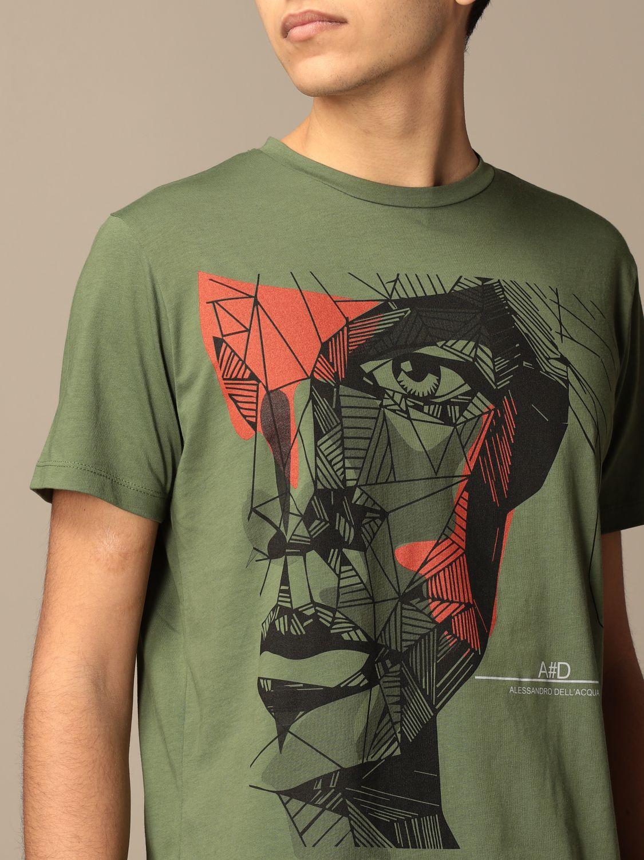 Camiseta Alessandro Dell'acqua: Jersey hombre Alessandro Dell'acqua militar 3