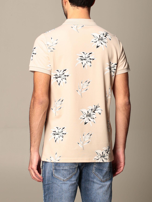 Polo shirt Alessandro Dell'acqua: Jumper men Alessandro Dell'acqua beige 2