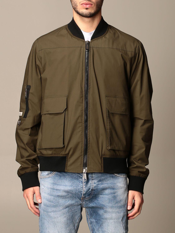 Jacket Alessandro Dell'acqua: Jacket men Alessandro Dell'acqua green 1