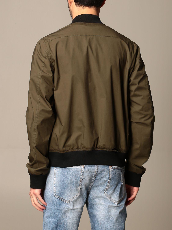 Jacket Alessandro Dell'acqua: Jacket men Alessandro Dell'acqua green 3