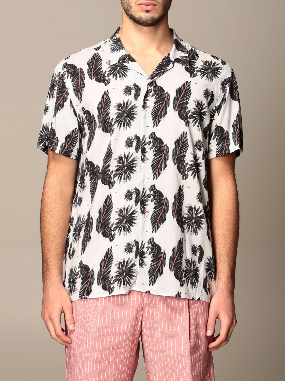 Shirt Alessandro Dell'acqua: Alessandro Dell'acqua fantasy shirt grey 1