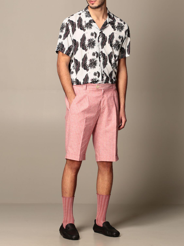 Shirt Alessandro Dell'acqua: Alessandro Dell'acqua fantasy shirt grey 2