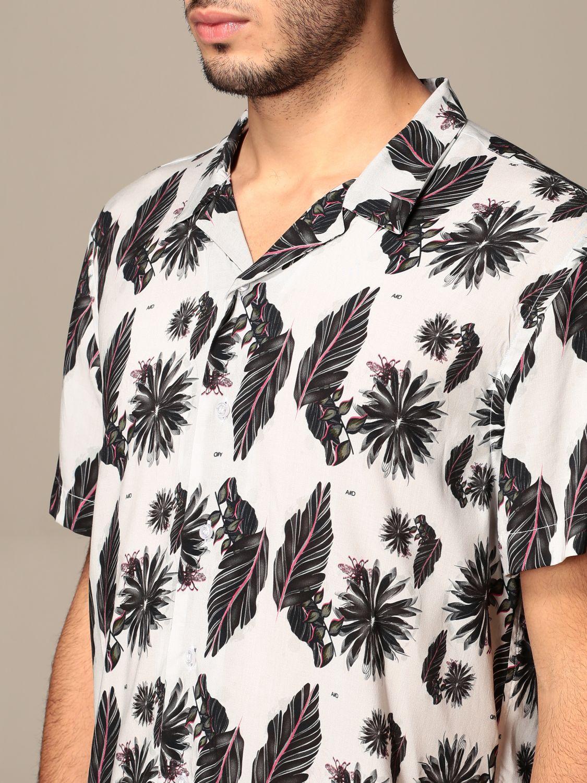 Shirt Alessandro Dell'acqua: Alessandro Dell'acqua fantasy shirt grey 4