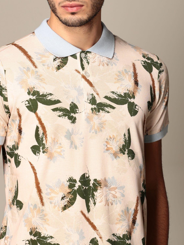 Polo shirt Alessandro Dell'acqua: Jumper men Alessandro Dell'acqua beige 4
