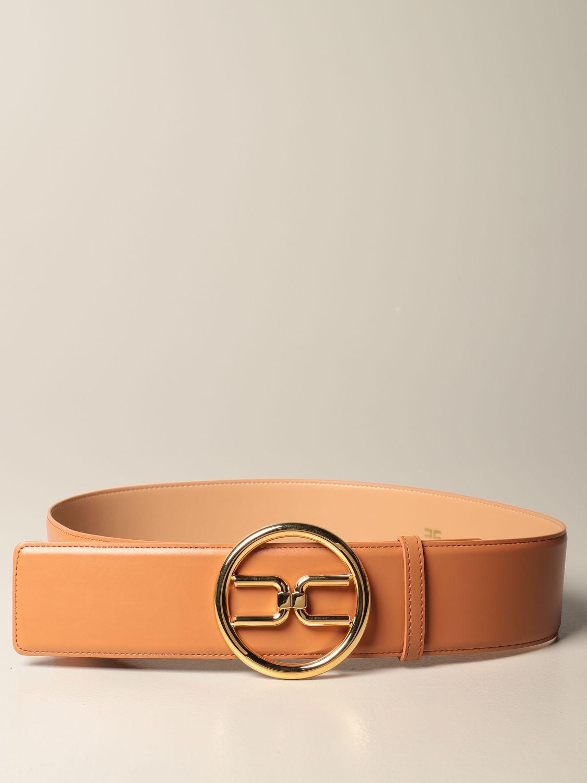 Cintura Elisabetta Franchi: Cintura Elisabetta Franchi in pelle sintetica cuoio 1