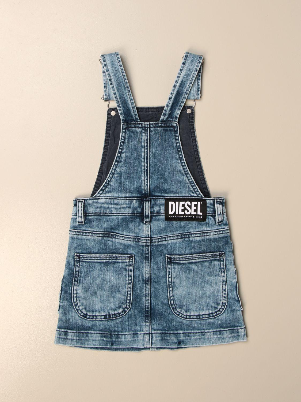 Платье Diesel: Платье Детское Diesel серо-бежевый 2
