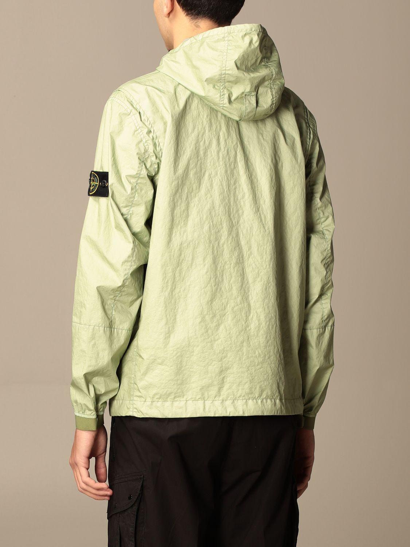 Jacket Stone Island: Stone Island nylon jacket with hood green 3