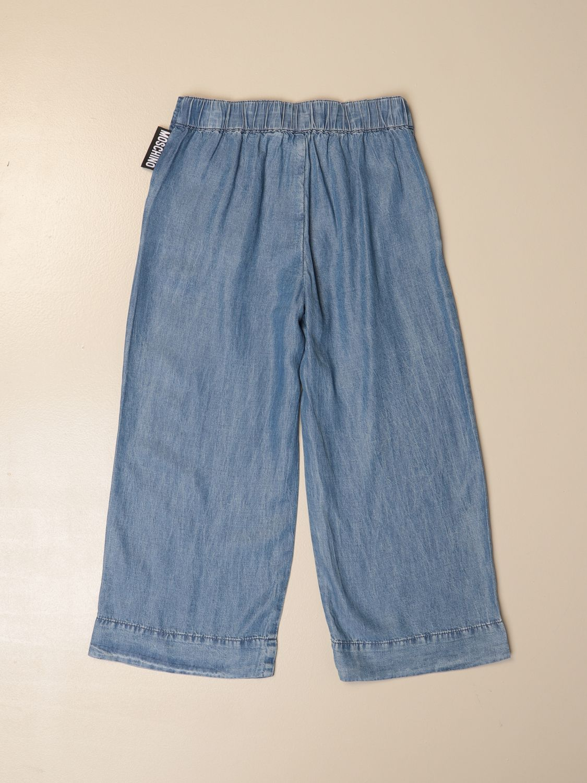 牛仔裤 Moschino Kid: 裤子 儿童 Moschino Kid 牛仔布 2