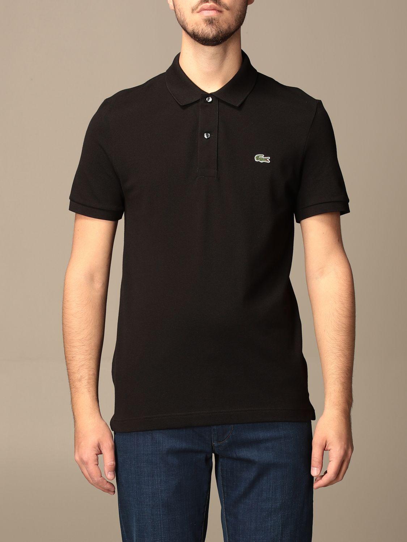 Polo Lacoste: Camiseta hombre Lacoste negro 1