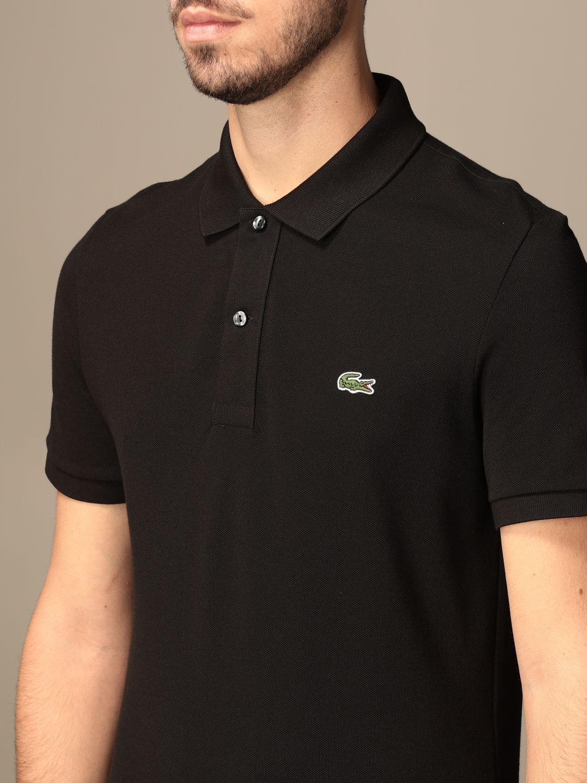 Polo Lacoste: Camiseta hombre Lacoste negro 3