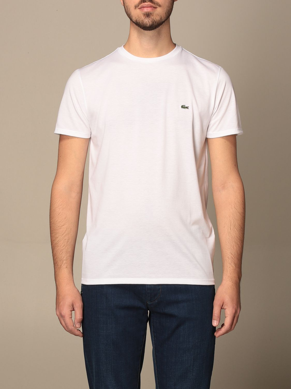 Camiseta Lacoste: Camiseta hombre Lacoste blanco 1