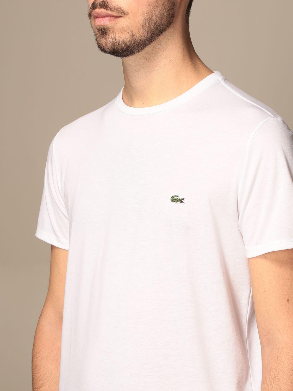 Camiseta Lacoste: Camiseta hombre Lacoste blanco 3
