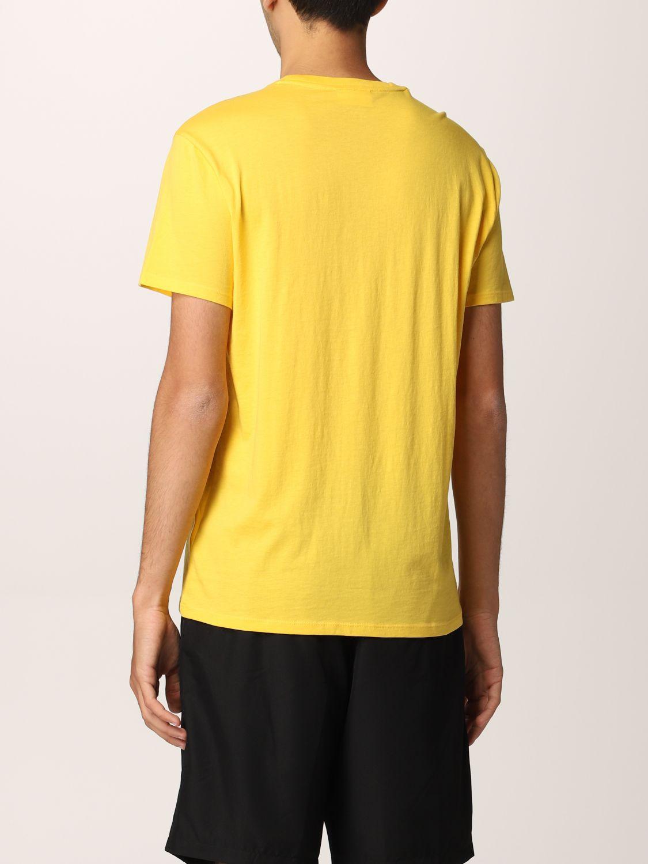 Camiseta Lacoste: Camiseta hombre Lacoste amarillo 2