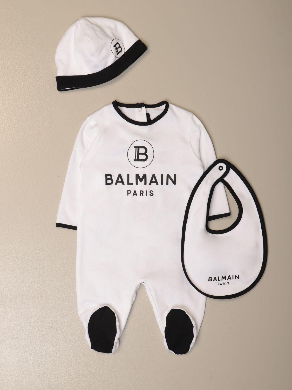Pack Balmain: Mono niños Balmain blanco 1