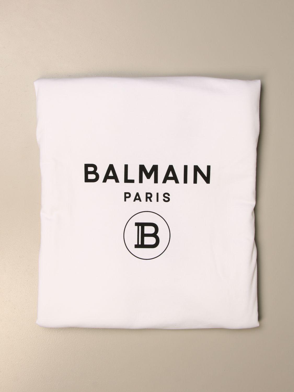 Manta Balmain: Manta niños Balmain blanco 1