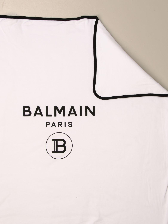 Manta Balmain: Manta niños Balmain blanco 2