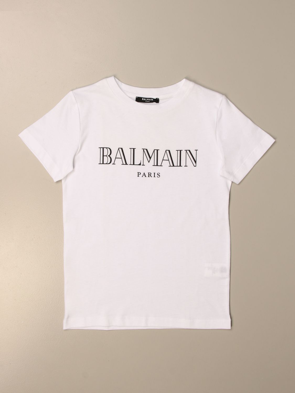 T-shirt Balmain: T-shirt enfant Balmain blanc 1