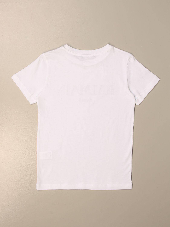 T-shirt Balmain: T-shirt enfant Balmain blanc 2