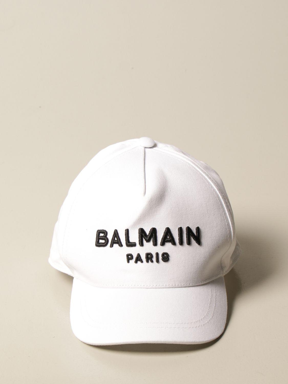 Gorro Balmain: Gorro niños Balmain blanco 2