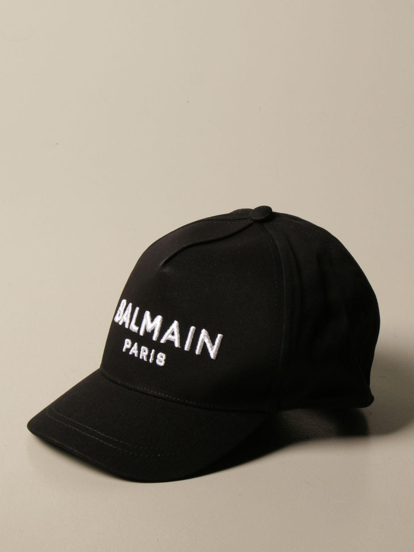 Gorro Balmain: Gorro niños Balmain negro 1