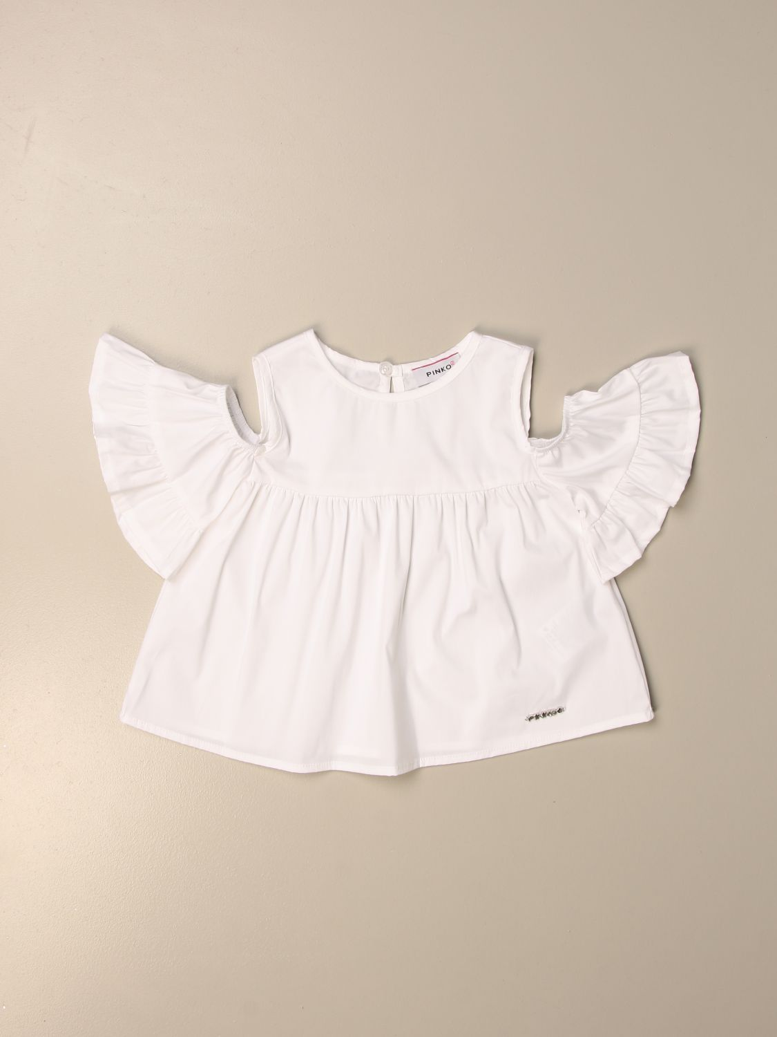 Top Pinko: Pinko top with wide sleeves white 1