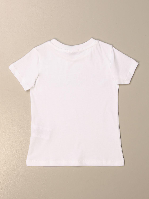 Camisetas Pinko: Camisetas niños Pinko blanco 2