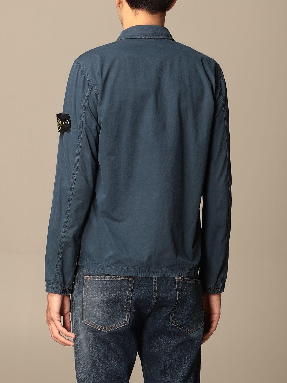 Jacket Stone Island: Stone Island nylon jacket with zip avion 2